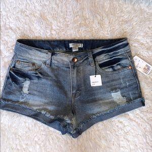Brand new forever 21 jean shorts